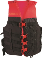 Jobe Adult Nylon Dual Size Vest, Red - S/M