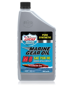synthetic sae 75w 90 m8 marine gear oil sold at connolly. Black Bedroom Furniture Sets. Home Design Ideas