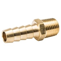 "3/8"" Hose to 1/4"" Male Pipe hose Barb Brass"