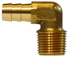 "5/8"" Hose to 3/8"" Male Pipe 90° hose Barb Brass"