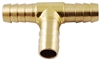 3/8 Hose Brass Barbed Tee