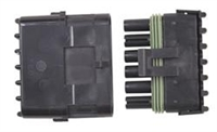 6 Pin Weathertight Sealed Connector