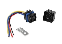MSD SPST RELAY W/SOCKET HARNESS