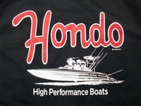 Hondo Boats T-Shirt Black
