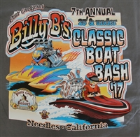 Billy B's 7th Annual Classic Boat Bash T-Shirts grey