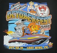 Octoberfest 2018 Black T-Shirt