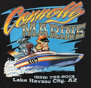 Connolly Marine T-Shirt in Black