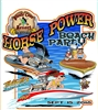 Horse Power Beach Party T-Shirts White