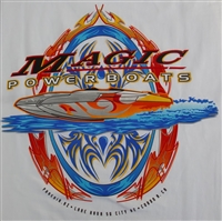 Magic Power boats T-Shirt