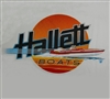 Vintage Hallett Custom Boats T-Shirt NEW