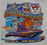 Octoberfest 2018 White T-Shirt