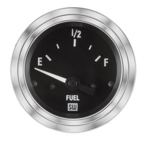 "2-1/16"" Stewart Warner Deluxe Fuel Level Gauge"