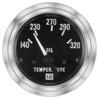 "2-1/16"" Stewart Warner Deluxe Oil Temp Gauge"