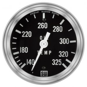 "2-1/16"" SW Deluxe Oil Temp Gauge Mechanical 144in"