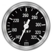 "2-1/16"" SW Deluxe Oil Temp Gauge Mechanical 216in"