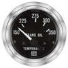 "2-1/16"" Stewart Warner Deluxe Trans Oil Temp Gauge 150 to 350"