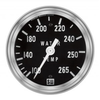 "2-5/8"" SW Deluxe Water Temp Gauge Mechanical 60"""