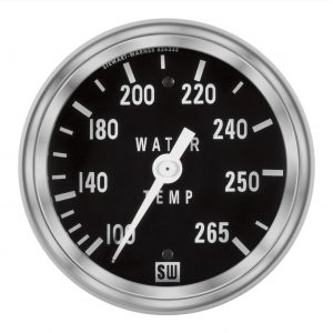 "2-5/8"" SW Deluxe Water Temp Gauge Mechanical 72"""