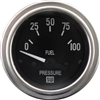 "2-1/16"" SW Deluxe Fuel Pressure Gauge 0 to 100"
