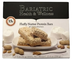 Fluffy Nutter Protein Bar peanut butter snack protein bariatric diet food