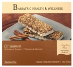 Crisp 'n Crunch Cinnamon Bar protein snack food bariatric diet