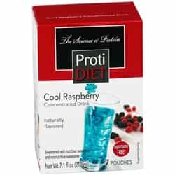 High-Protein Diet Weight Loss Fruit Drink - Cool Raspberry
