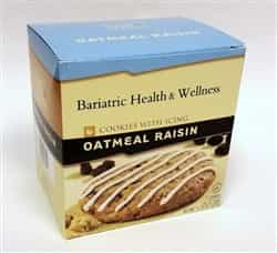 Oatmeal Raisin Cookie protein diet snack dessert bariatric