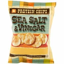 sea salt kettle vinegar chips diet food snack bariatric protein