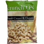 These sour cream and onion O's are a smart snack for anyone looking to munch on something light. Packed with protein, cholesterol-free, and delicious!
