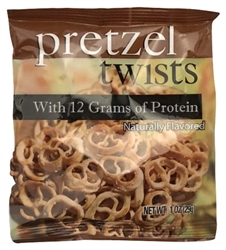 Pretzel Twists diet food snack bariatric protein