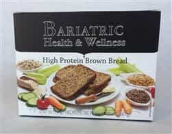 high protein brown bread snack bariatric diet food