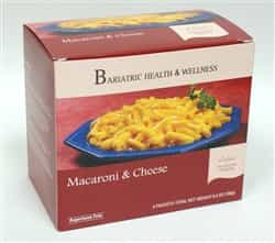 Macaroni & Cheese Pasta mac meal bariatric diet healthy