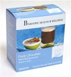 dark chocolate pudding shake mix protein low calorie diet food bariatric snack dessert