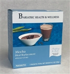 aspartame free mocha chocolate pudding shake mix meal replacement bariatric diet food snack dessert