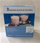 aspartame free strawberry shake pudding mix protein low calorie diet food bariatric snack dessert