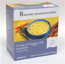 Cream of Chicken Soup meal lunch dinner bariatric diet healthy protein filling