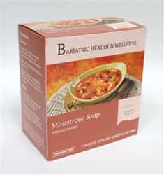 Minestrone Soup lunch dinnner bariatric diet healthy protein filling