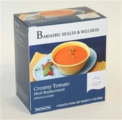 Creamy Tomato Soup Mix lunch dinner bariatric diet healthy protein filling
