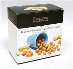 peanut caramel coated soy snack malted milk ball diet healthy protein dessert