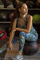 Leggings-To Matisse with Love Design