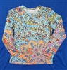 Long Sleeve Top - Two Lotus Flowers