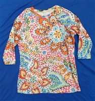 "Raglan 3/4 sleeve Top-""Groovy Kind of Love"""