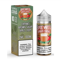 Brewed Awakening Apple Cider Caribbean Cloud Co - 100ml - $10.99 - EJuice Connect