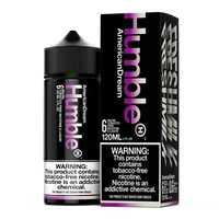 American Dream E-Liquid by Humble Juice Co. 120mL Vapor $10.79 - EJuice Connect