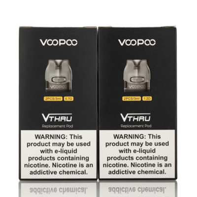 VooPoo V.Thru Pro Replacement Pods - $7.95  -  EJuice Connect