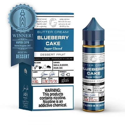 Blueberry Cake - Glas Basix Series E-Liquid 60ml - $9.79 - EJuice Connect