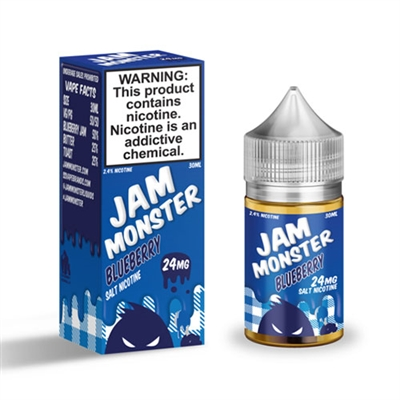 Jam Monster Blueberry Salt Nicotine 30ml E Liquid $10.99 - EJuice Connect