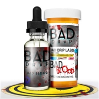 Bad Blood by Bad Drip 60ml $11.79 - Top Selling Vape Juice - EJuice Connect