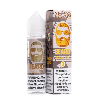 Beard Vape Co. No. 32 E-liquid - 60 ml $9.79 - Ejuice Connect