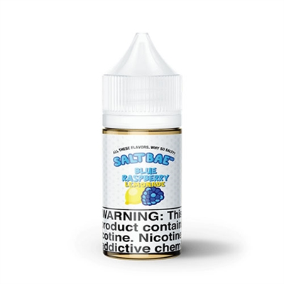 Blue Raspberry Lemonade by SaltBae50 - 30mL - Nicotine Salt Vape - Ejuice Connect